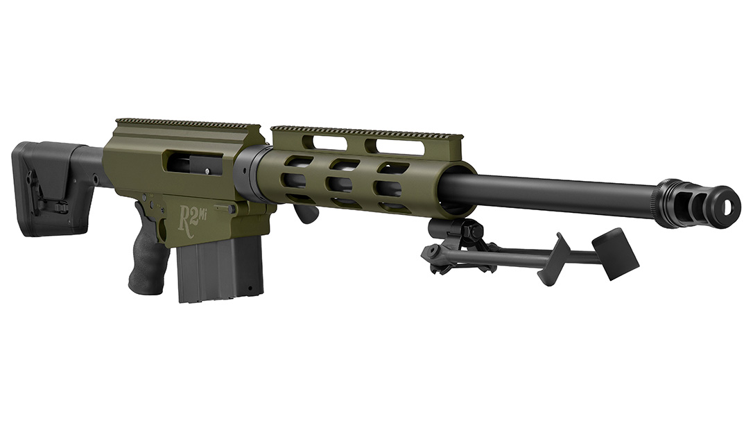 With a 30-inch barrel, the R2Mi gets the most out of the .50 BMG.