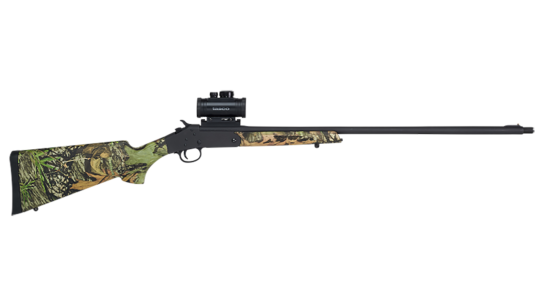 Lightweight and inexpensive, the single-shot Stevens 301 Turkey comes in .410, 20 and 12 gauge.