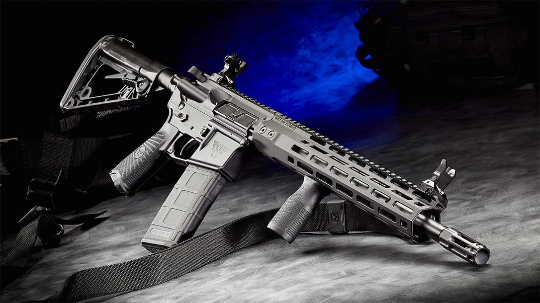 The Arkansas State Police chose the Wilson Combat WC-15 patrol carbine.