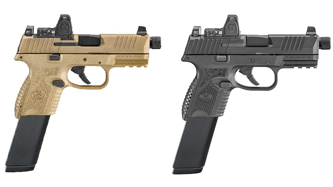FN 509 Compact Tactical pistol review, extended