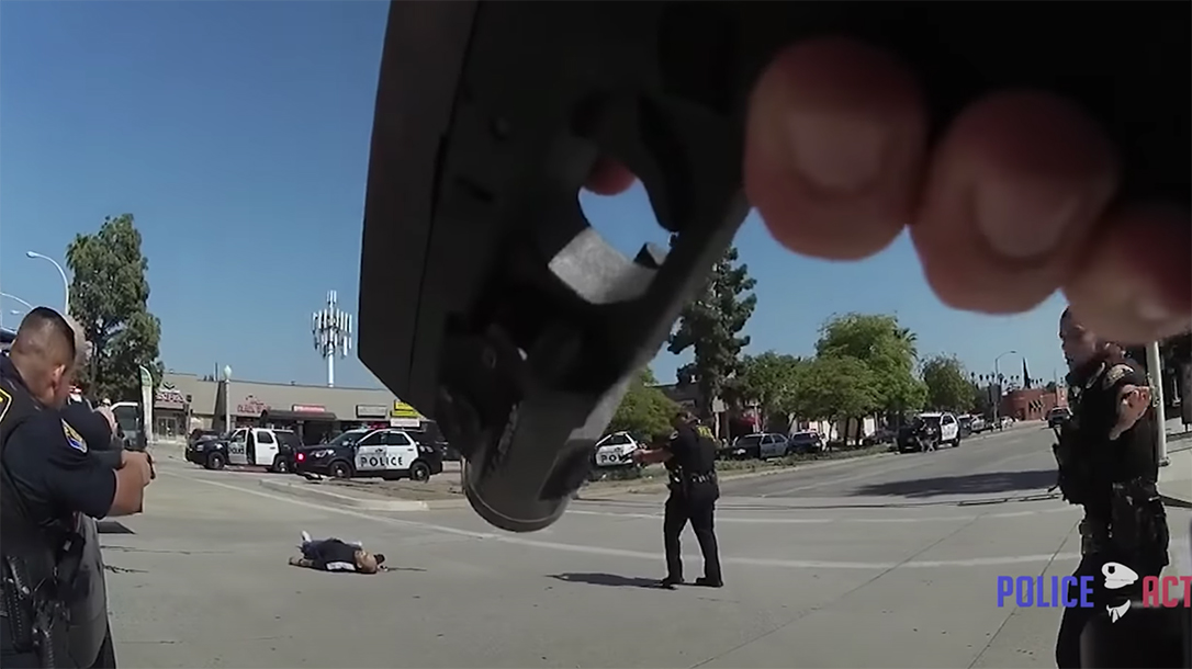 Marine Corps and LE veteran Lloyd Nelson opened fire on Pasadena Police, who shot and killed him.