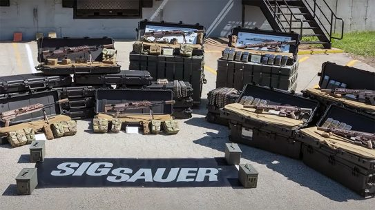 SIG delivered Next Generation Squad Weapons to the U.S. Army.