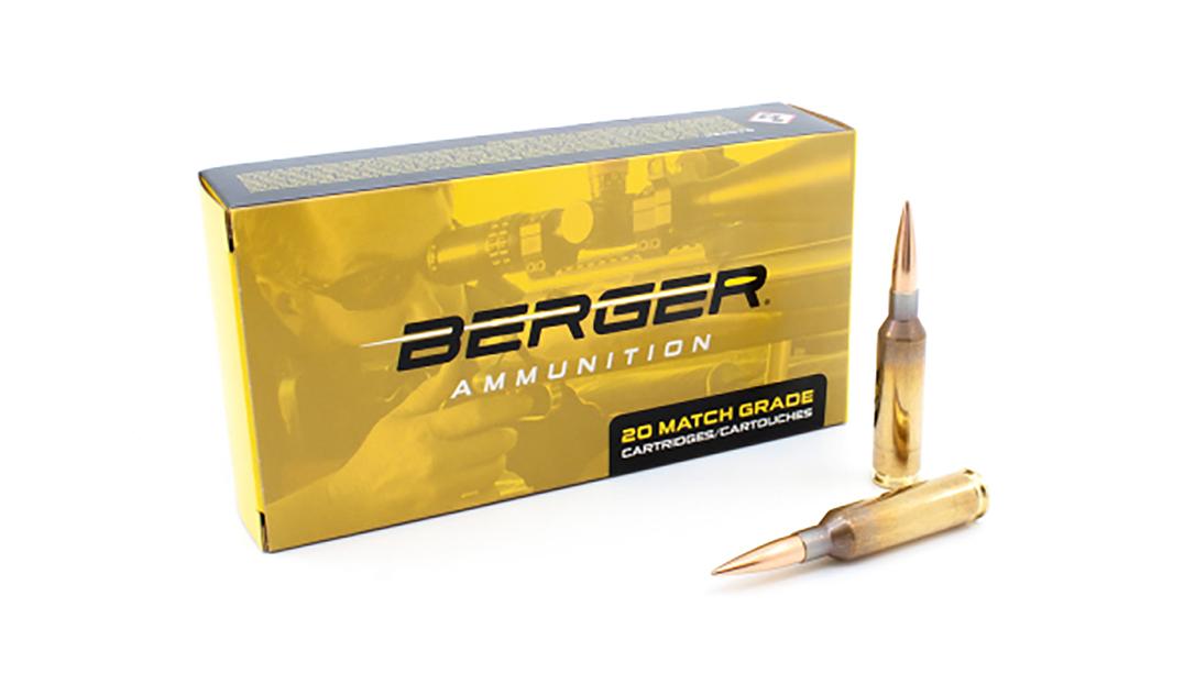 Berger's Long Range Hybrid Target adds 6mm and 6.5 Creedmoor ammo.