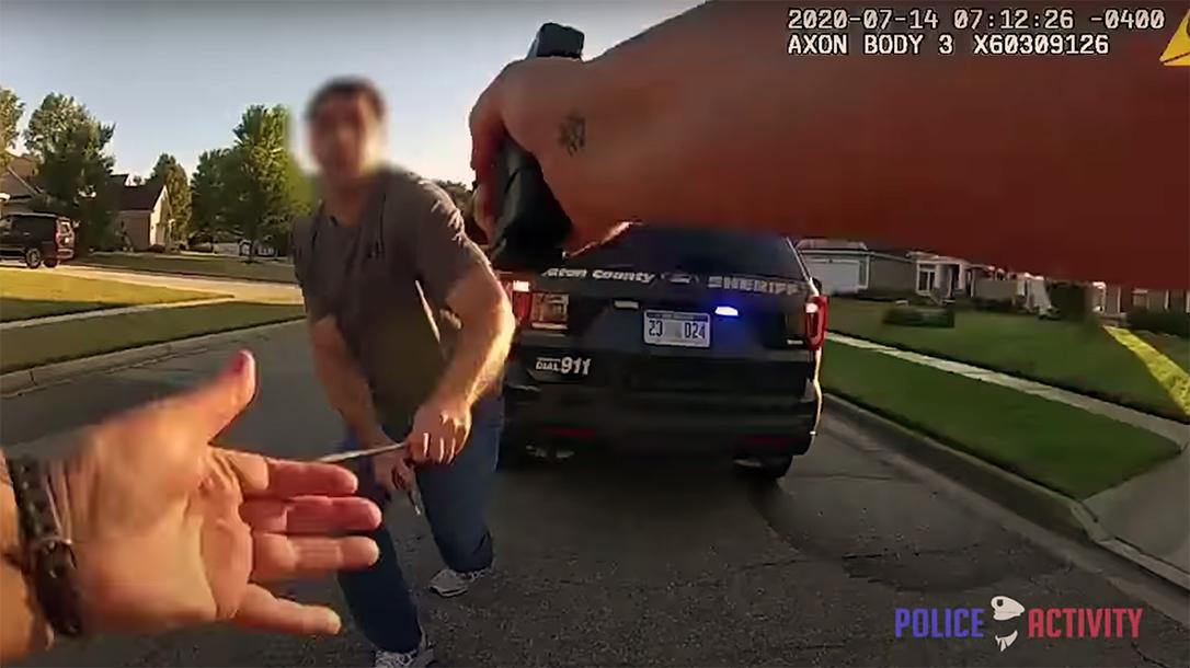 Michigan Deputy Clears Jam, shoots suspect, Sean Ruis shooting, Eaton County Police