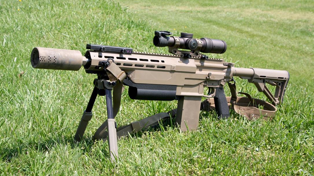 Smuzzle US Army, Muzzle Brake, Suppressor, prototype