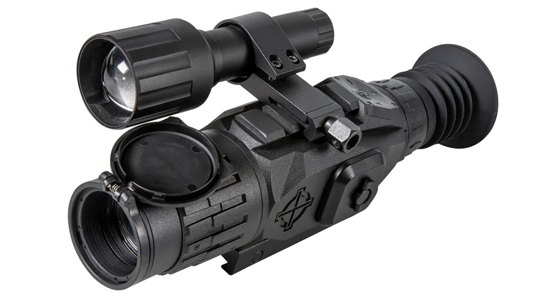 See it and record it with the feature-laden Sightmark Wraith HD digital riflescope.