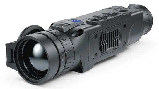 The Pulsar Helion 2 XP50 detects heat signatures out to 2,000 yards.
