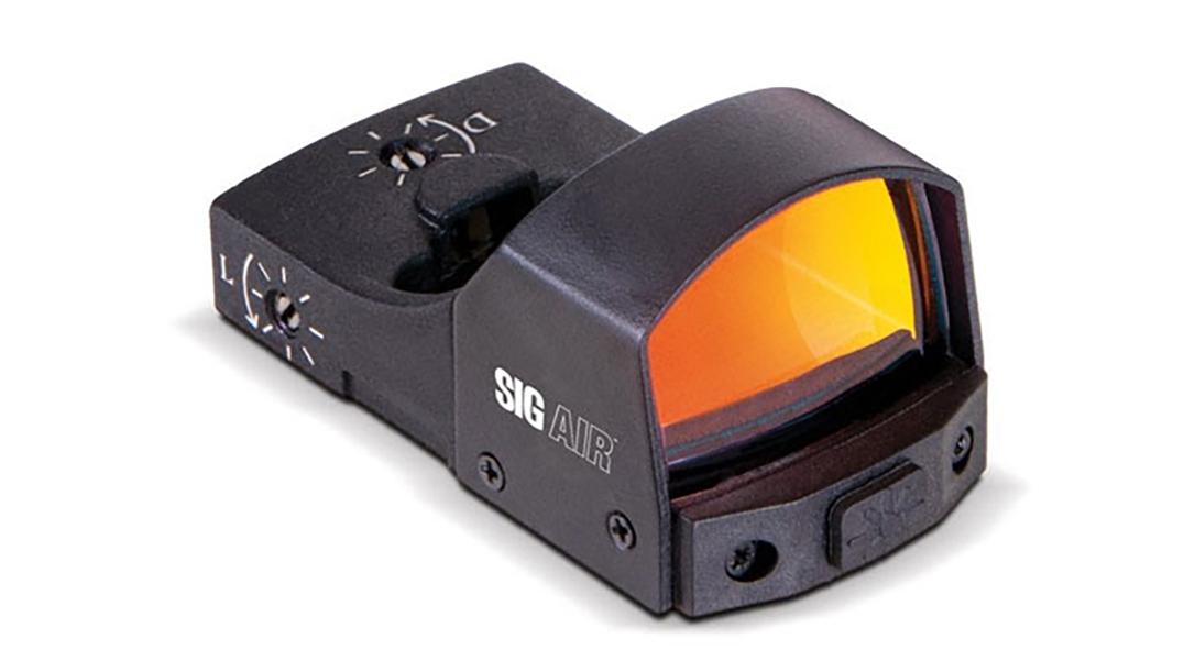 The SIG Air Reflex Sight provides a 3 MOA dot for ProForce M17, M18 airsoft guns.