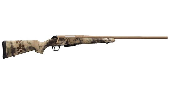 The Winchester HPR Hunter now comes in a Kryptec Highlander finish.