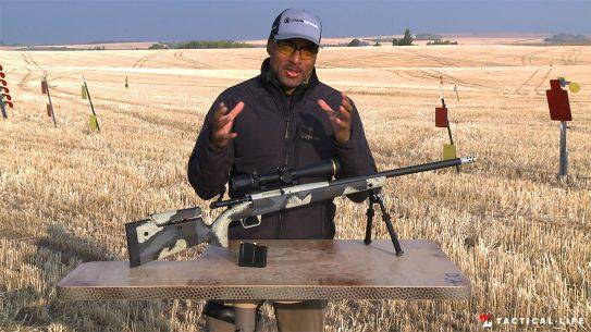 Springfield Model 2020 Waypoint bolt-action rifle, test