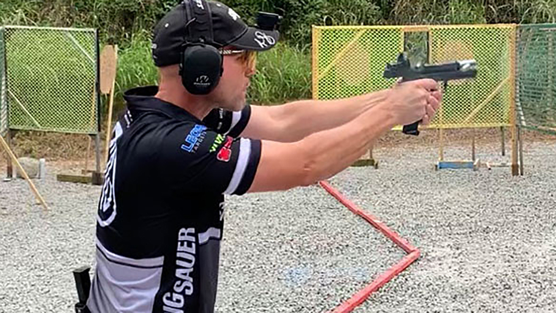 Team SIG Captain Max Michel won the overall Area 5 championship competing out of Carry Optics division.