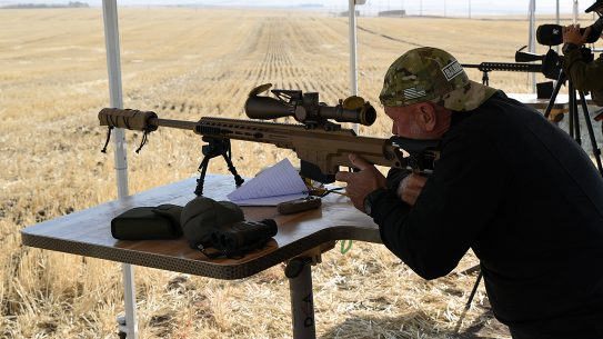 Shooters took the Barrett MRAD Mk22 out to 1,800 yards with ease during testing.