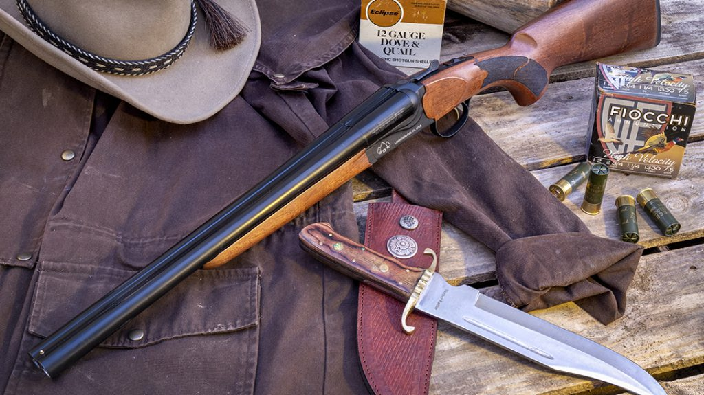 Recently introduced by Florida-based Black Aces Tactical, this budget-priced 12-gauge side-by-side shotgun is just the ticket for Cowboy Action Shooting