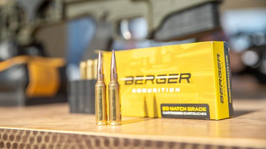 Berger Bullets, known for components, delivers some of the most accurate factory loads in the business.