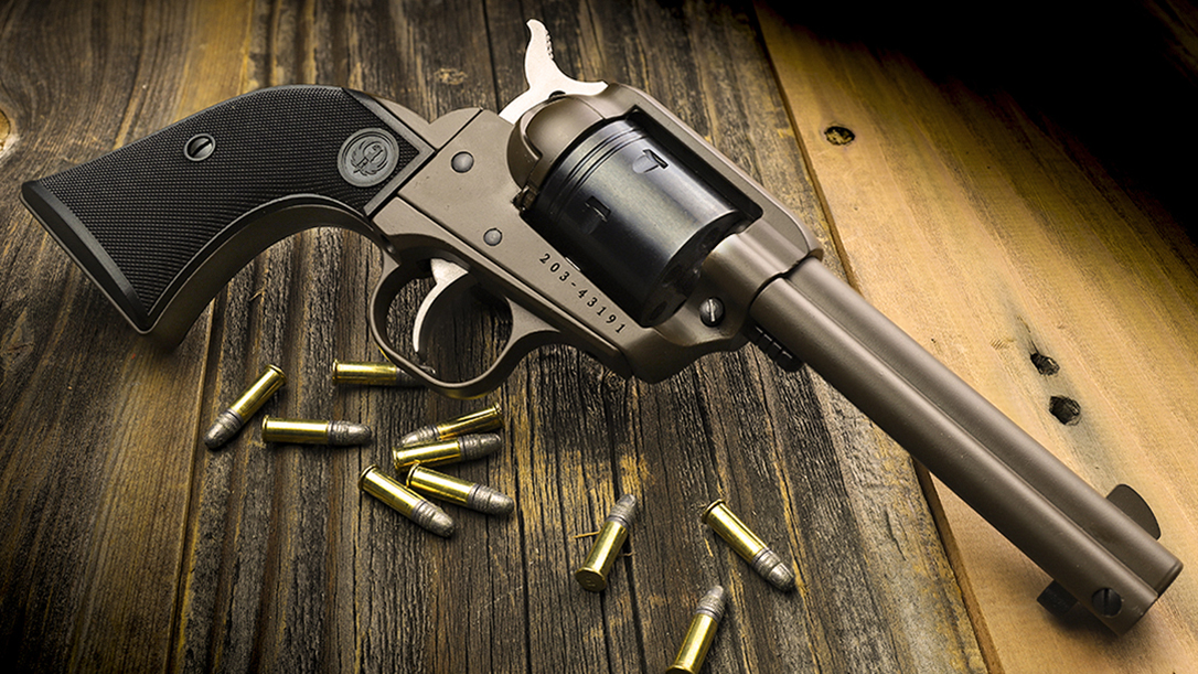 The Davidson's Ruger Wrangler revolver brings modern refinements to a timeless classic.