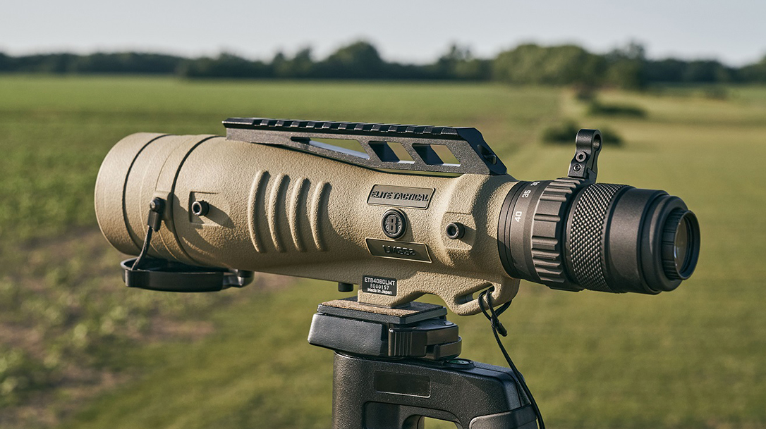 Weighing 37 ounces, the Bushnell Elite Tactical LMSS2 delivers a compact, professional-grade spotting scope for duty, hunting or competition.