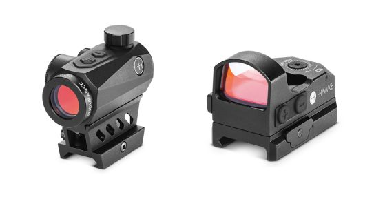 Hawke Optics Red Dot and Reflex Dot Sights are affordable and feature a 3 MOA dot.