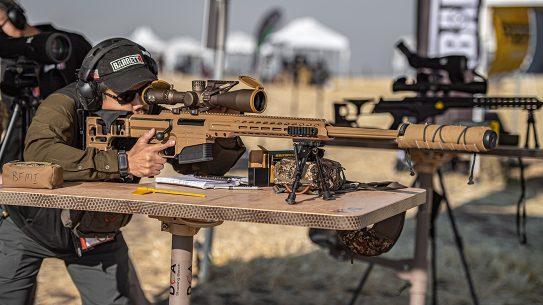 Barrett MRAD Mk22 rifle, test