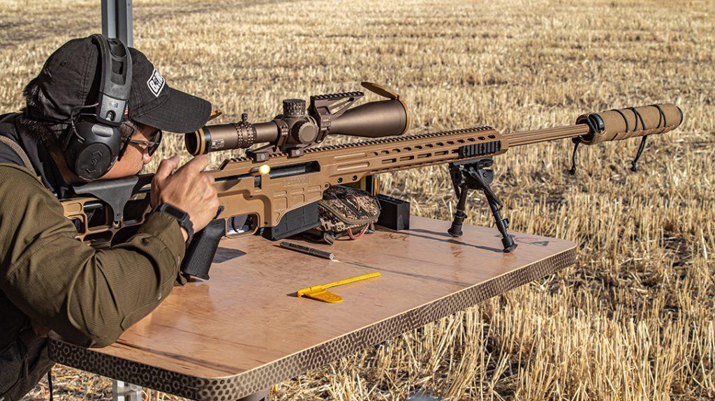 Barrett MRAD Mk22 rifle, bolt