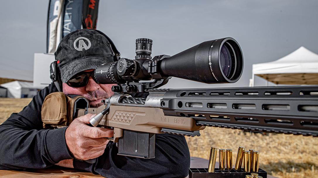 Sightmark Latitude Rifle Scope testing, lead