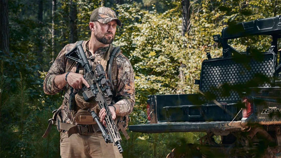 The new Red Arrow Weapons 300 BLK rifle comes ready for duty, hunting or competition.