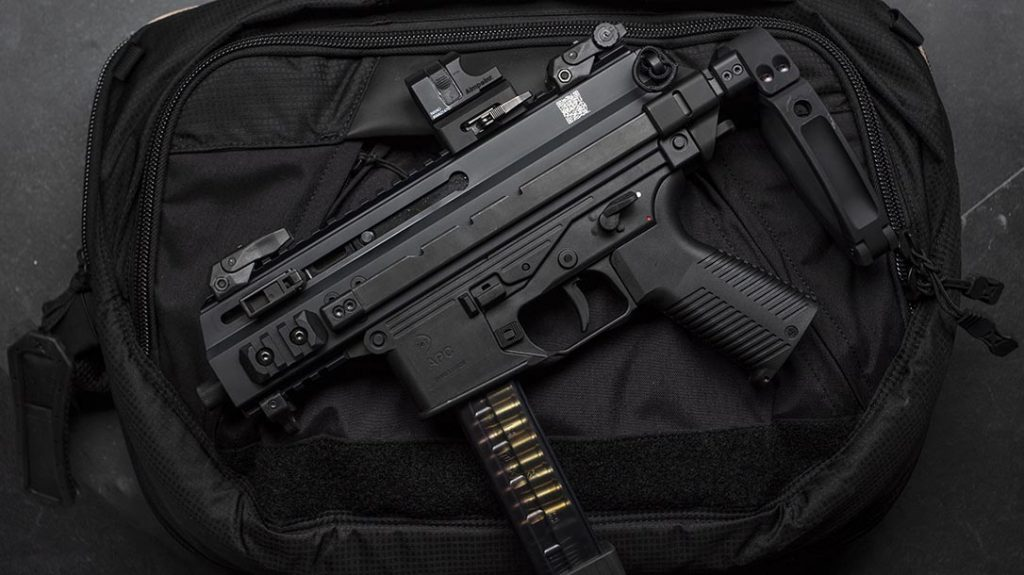 The B&T SCW Package commemorates the contract-winning submachine gun.