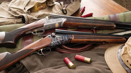 With both color-casehardened and silver receivers, the TriStar Bristol offers a full line of side-by-sides.