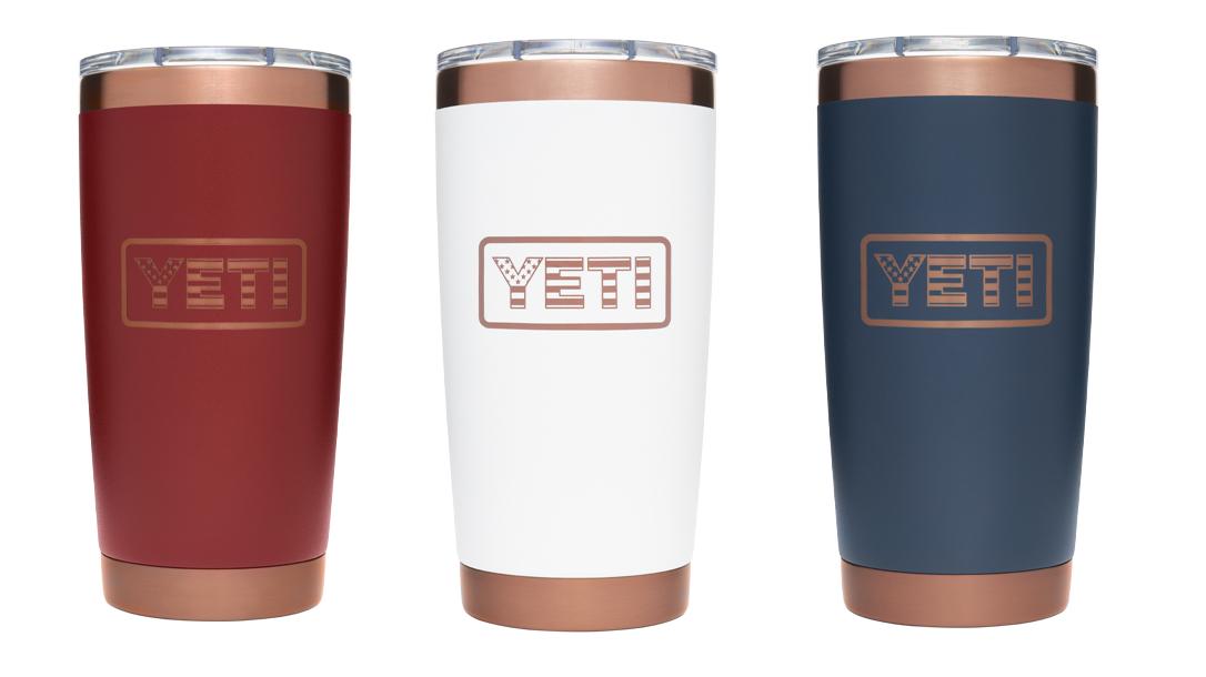 Each Yeti Folds of Honor Rambler sale will send $5 to help Veteran families.