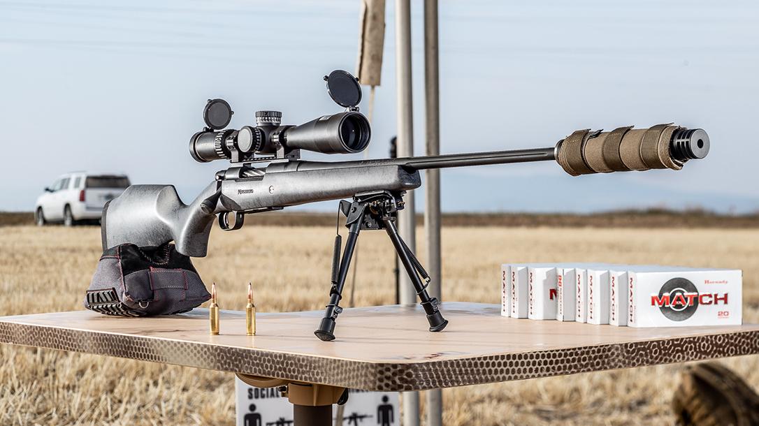 Mossberg Patriot LR Hunter, reup, range
