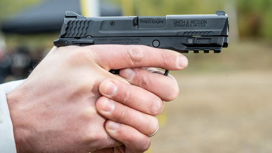 Smith & Wesson issued a safety recall for M&P Shield EZ pistols.