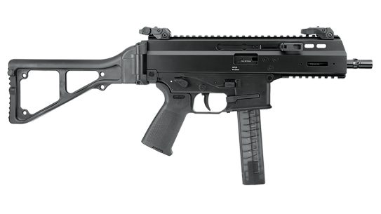 A Brazilian police force recently selected the B&T APC40 Pro in .40 S&W.