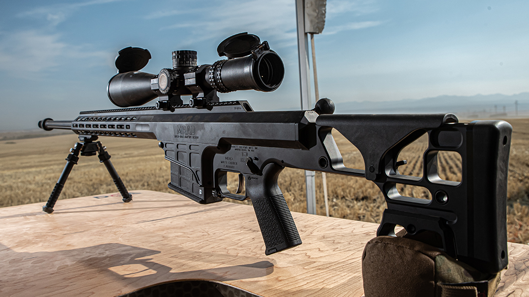 The new Barrett MRAD SMR features a fixed stock and barrel.