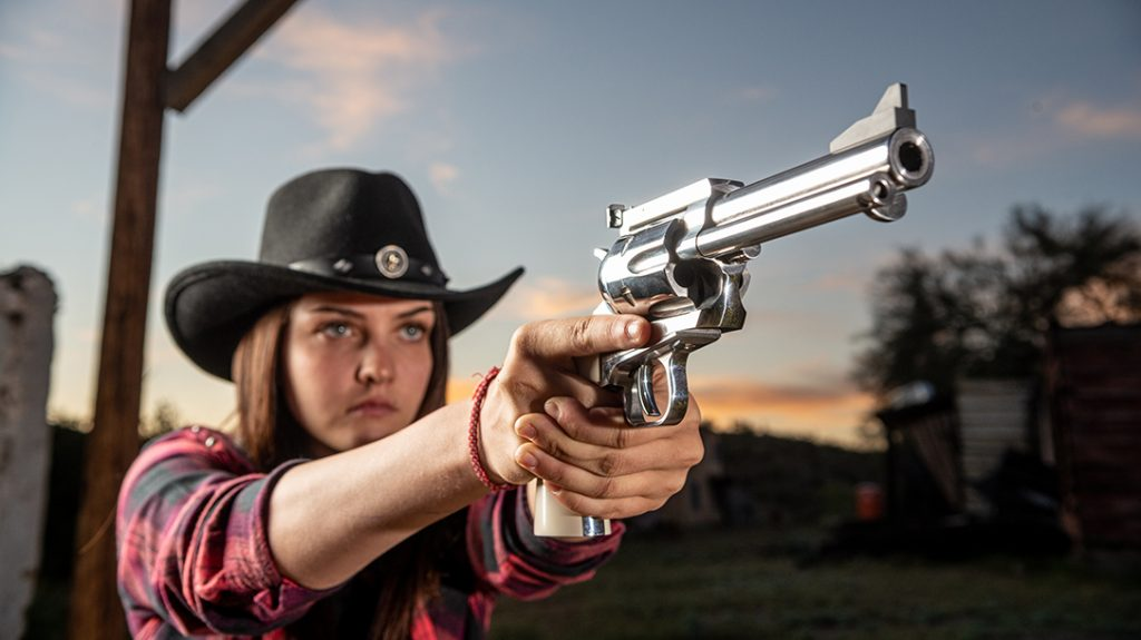 The 17-year-old competitive shooter wants to compete in a World Shoot someday.