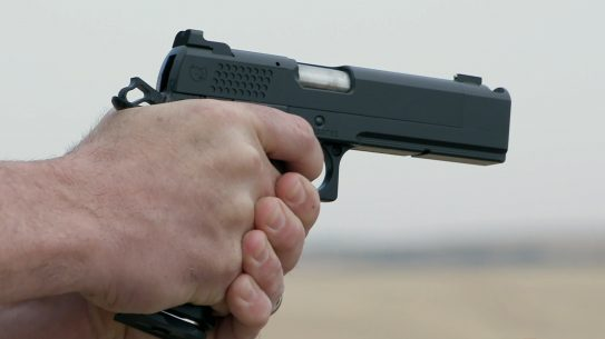 The Nighthawk TRS Comp is the company's first double-stack 1911.