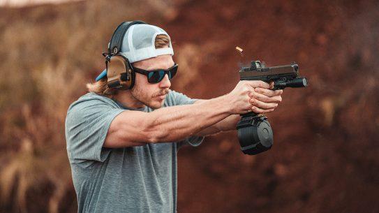 The Magpul PMAG D-50 now fits Glock handguns.