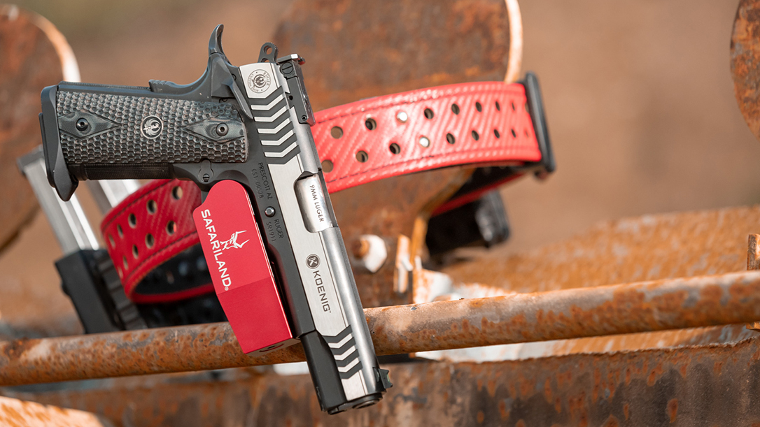 The new Safariland Model 015 Open Top Competition Holster is built to compete.