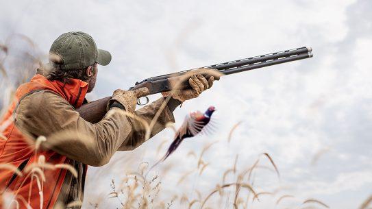 The new Mossberg International shotgun line provides field and sporting models.