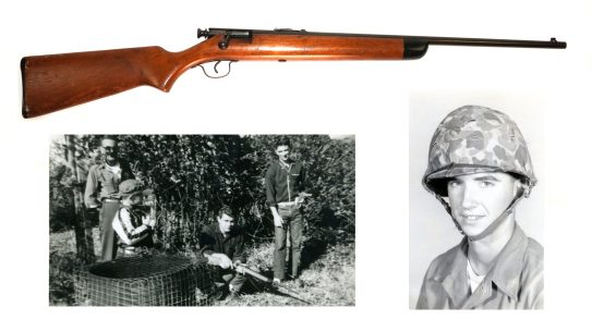 The legendary Carlos Hatchock learned to shoot on a Stevens rifle.