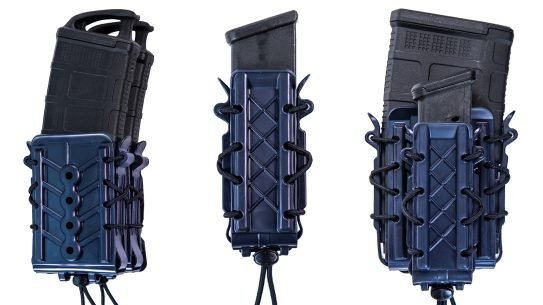 High Speed Gear LE Blue Polymer TACOs fill out tactical kits.
