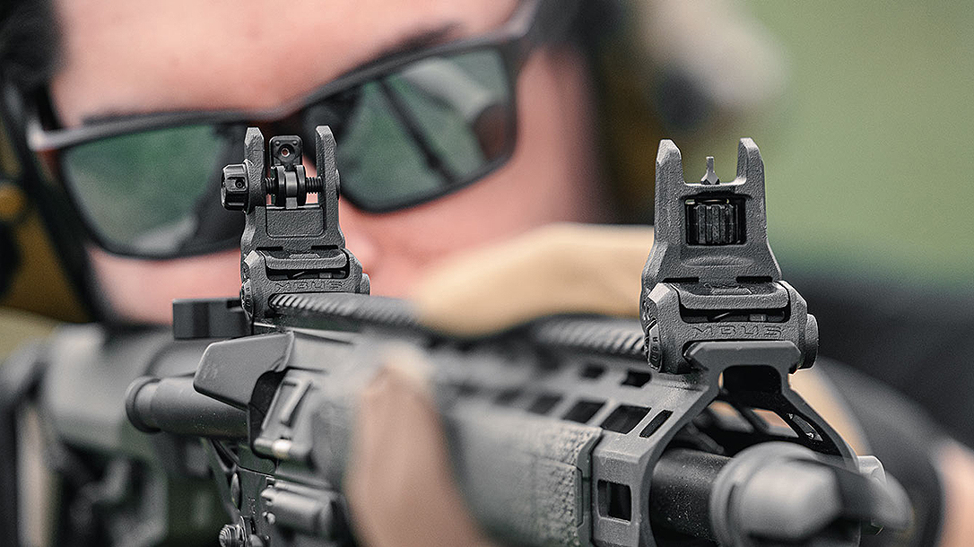 The updated Magpul MBUS 3 updates with a lighter, stronger system.