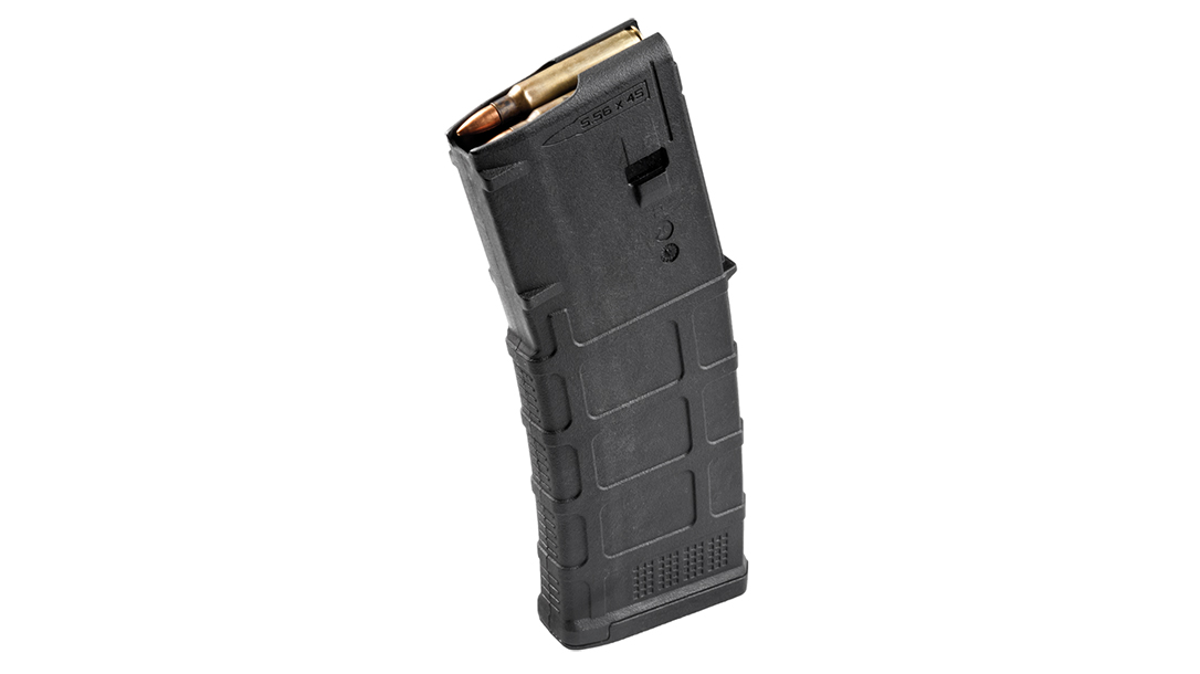 The PMAG 10-30 shrinks the capacity down to 10 rounds.