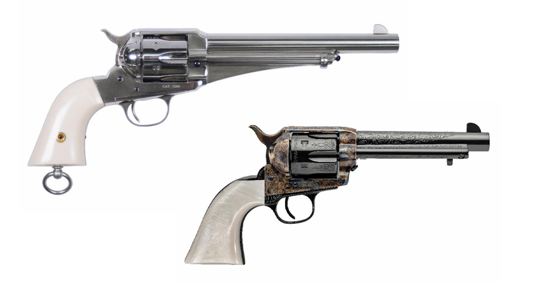 The Uberti Outlaws & Lawmen series adds .357 Mag chambering.