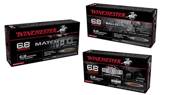 The new 6.8 Western cartridge is built to go long, both for hunting or competition shooters.