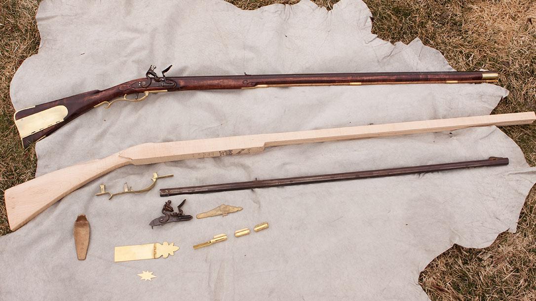 Flintlock Rifle Kits, how to build a diy flintlock rifle