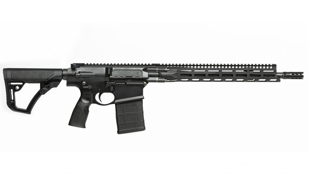 Daniel Defense attention to detail is typified by their innovative 4-Bolt Connection system offers a rigid connection system between DD 16-inch cold hammer forged barrel to the upper receiver promoting accuracy.