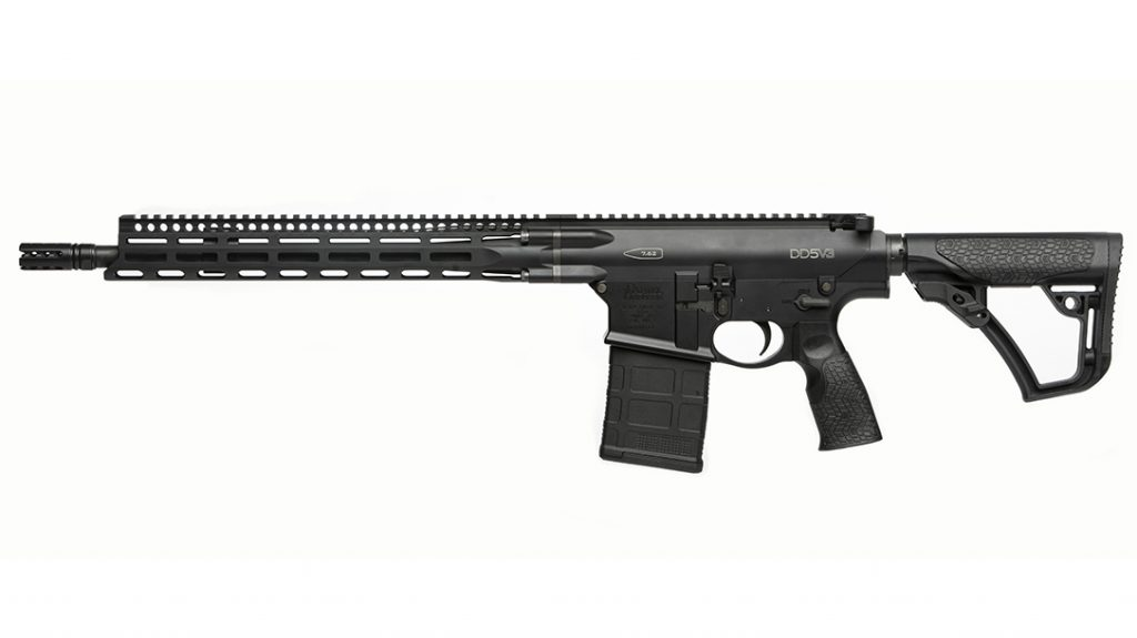 Daniel Defense Superior Suppression Device (muzzle device) is made from 17-4 PH stainless steel and salt bath nitride finished.