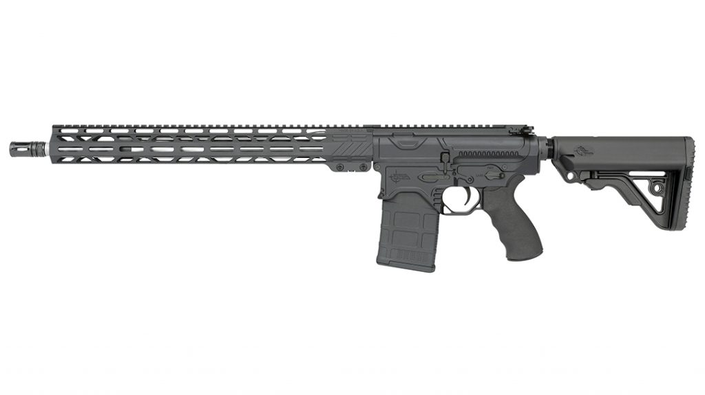 The Rock River Arms BT-3 is not confined to strictly prone use. It was tested in various field expedient positions at Echo Valley Training Center.