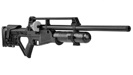 With a gas-operated mechanism, the Hatsan Blitz delivers full-auto fun.