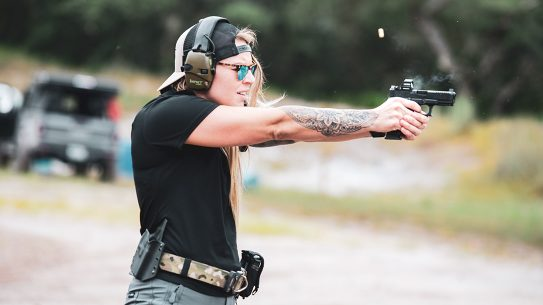 After first becoming a proficient shooter as a Marine, De Santis now trains others.
