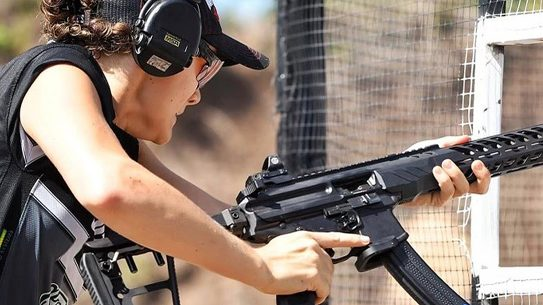 Lena Miculek notched a career milestone, winning the Florida Open PCC Championship from the Ladies division.
